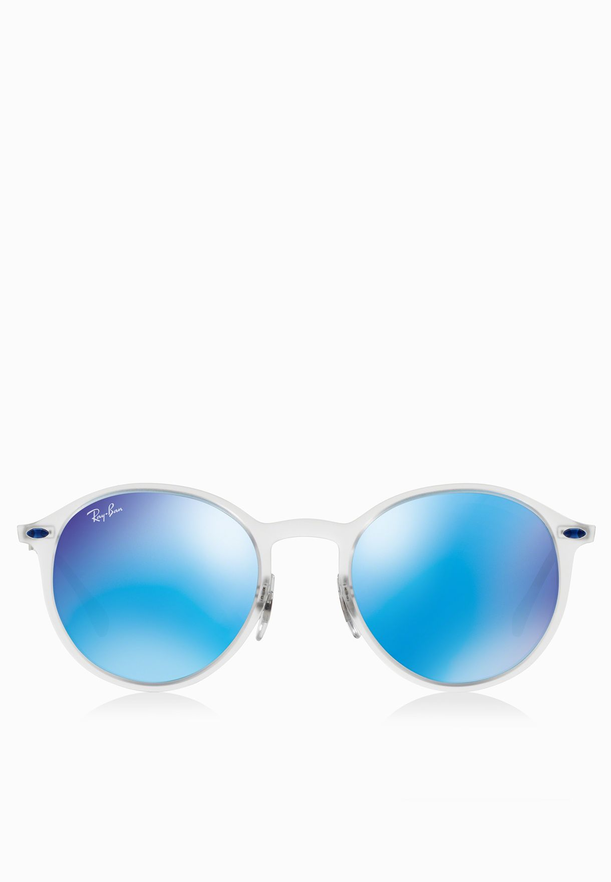 c119c30e74 ... czech shop ray ban white tech light ray round sunglasses 8053672441185  for men in qatar ra736ac71lxk