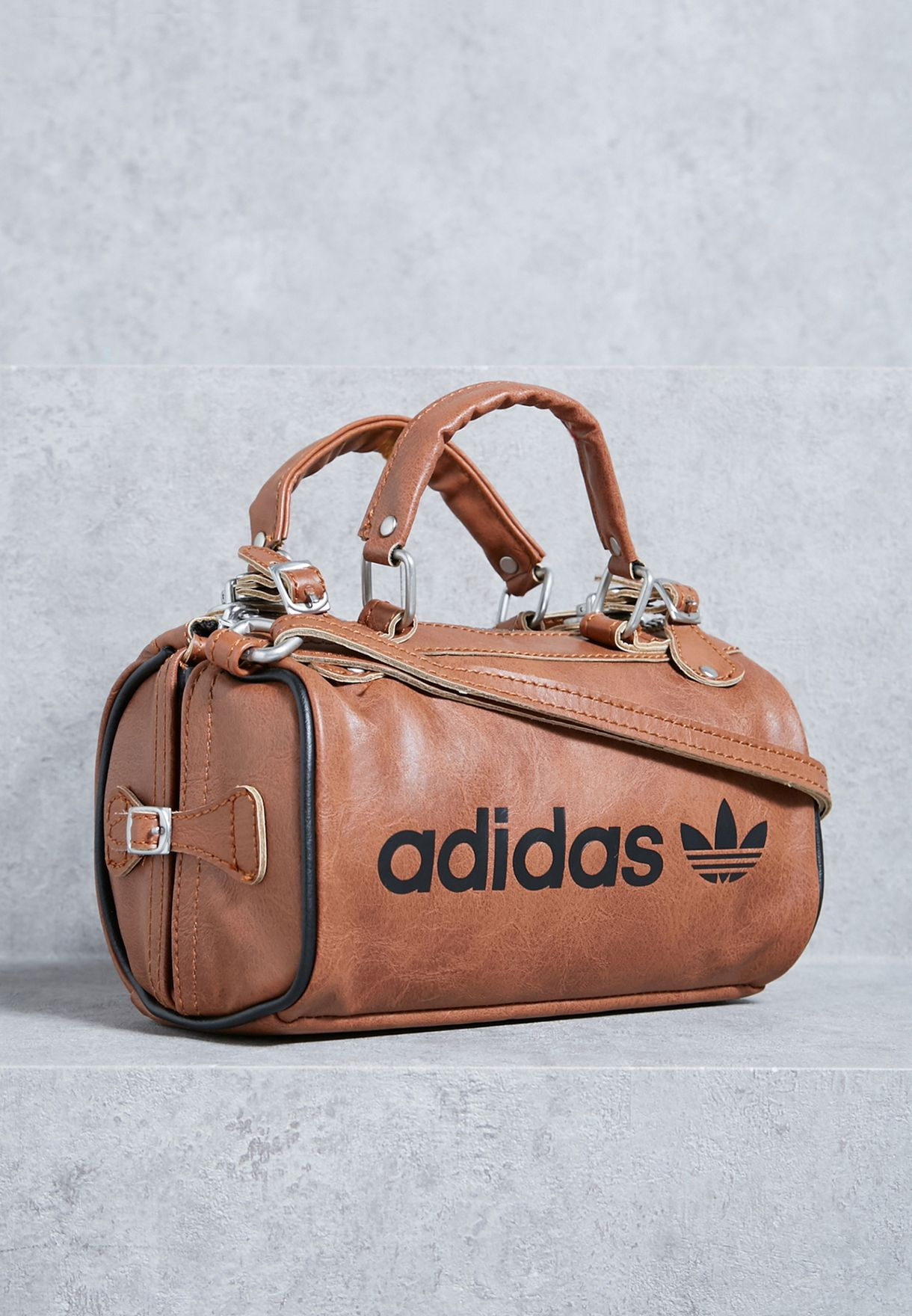 Shop adidas Originals browns Archive Duffel Bag BQ5956 for Women ... dfa54de29a7a5