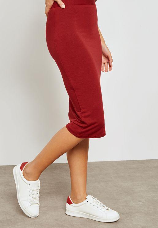 Tube Midi Skirt