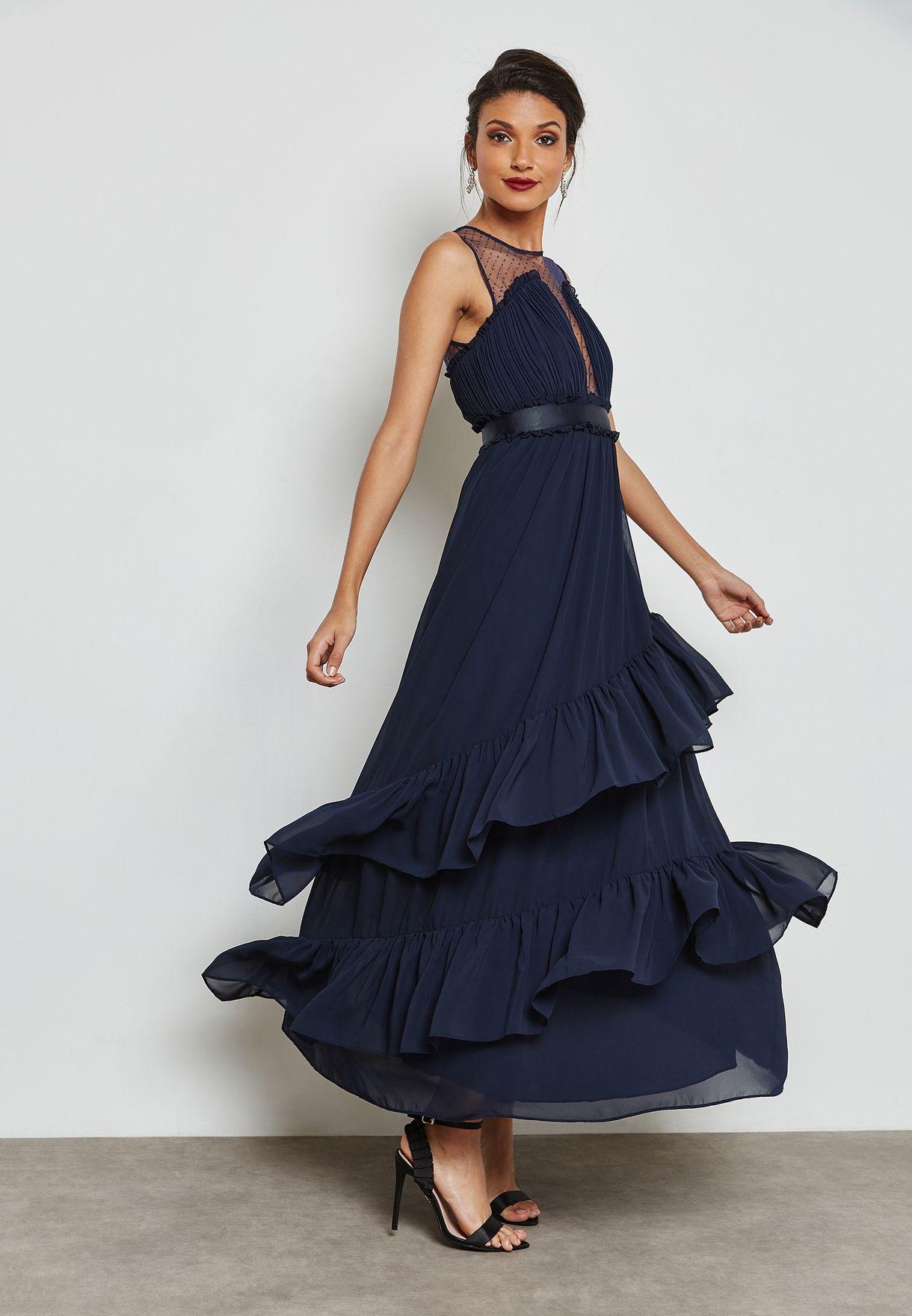 فستان مكسي