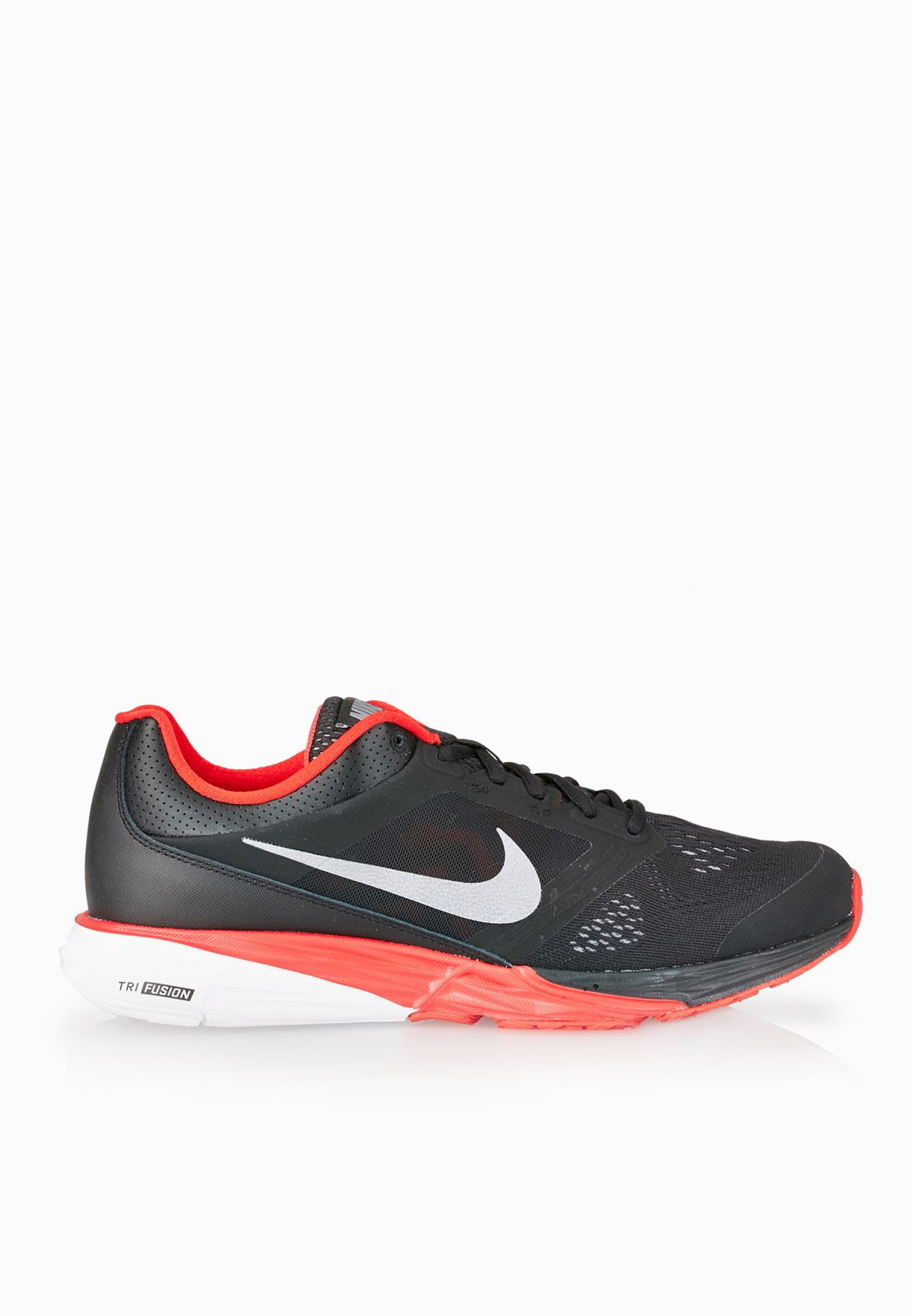 8c3384073edf Shop Nike black Tri Fusion Run 749170-010 for Men in Oman - NI727SH71EUU