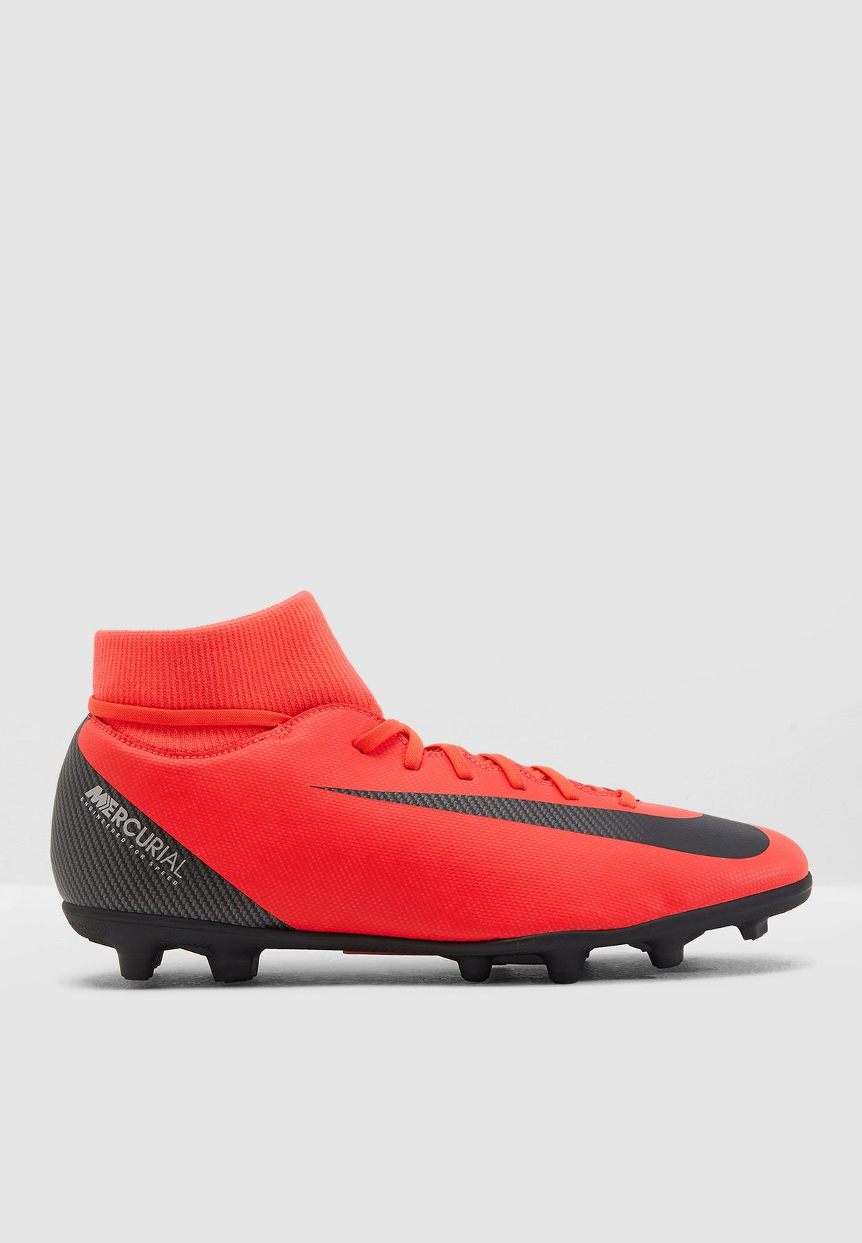 fe7dffc1a70 Shop Nike red Mercurial Superfly 6 Club CR7 FG AJ3545-600 for Men in ...