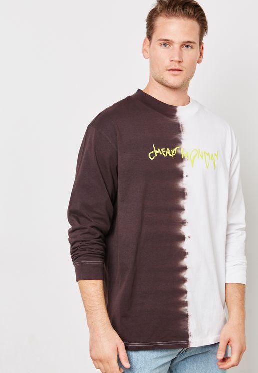 Droop Logo Colourblock T-Shirt