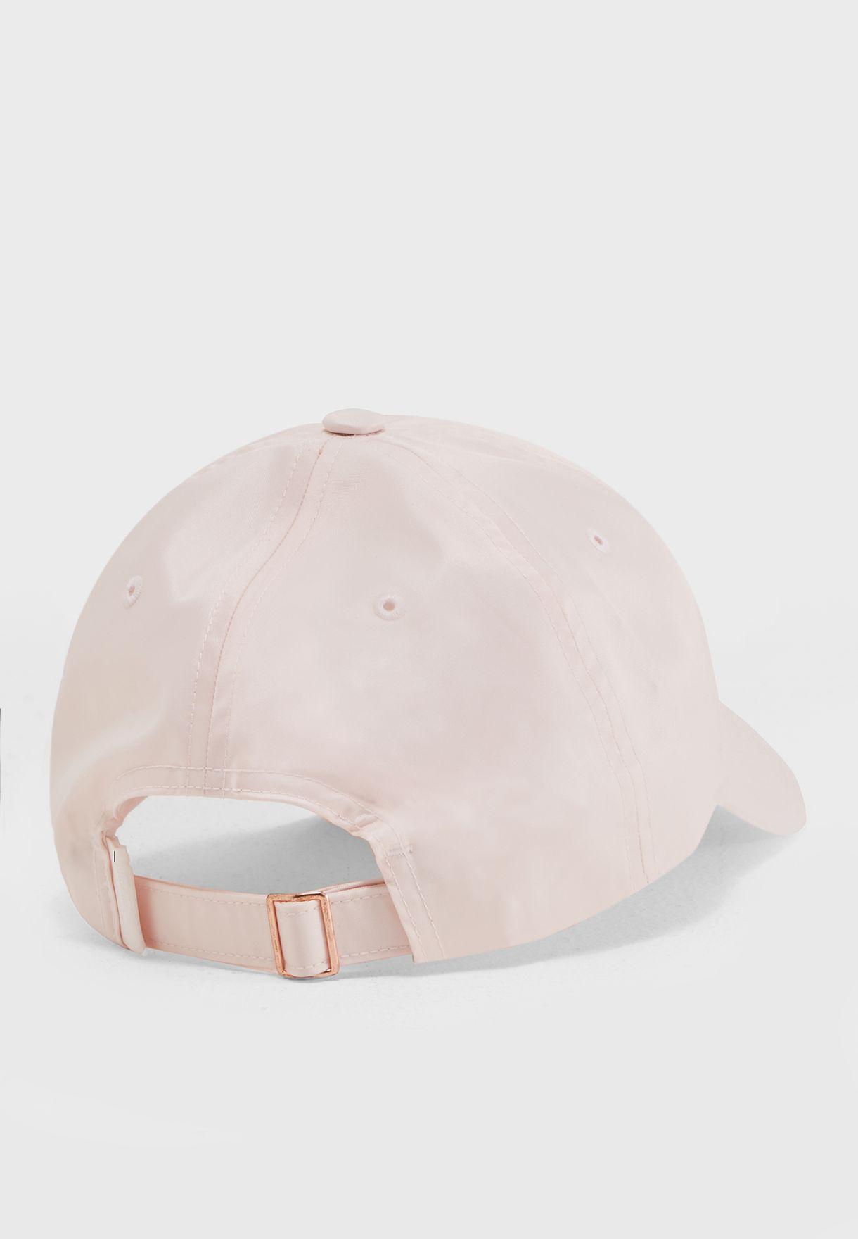 Shop Reebok pink Classic Satin Cap CE3436 for Women in Qatar ... 27319e4f301d