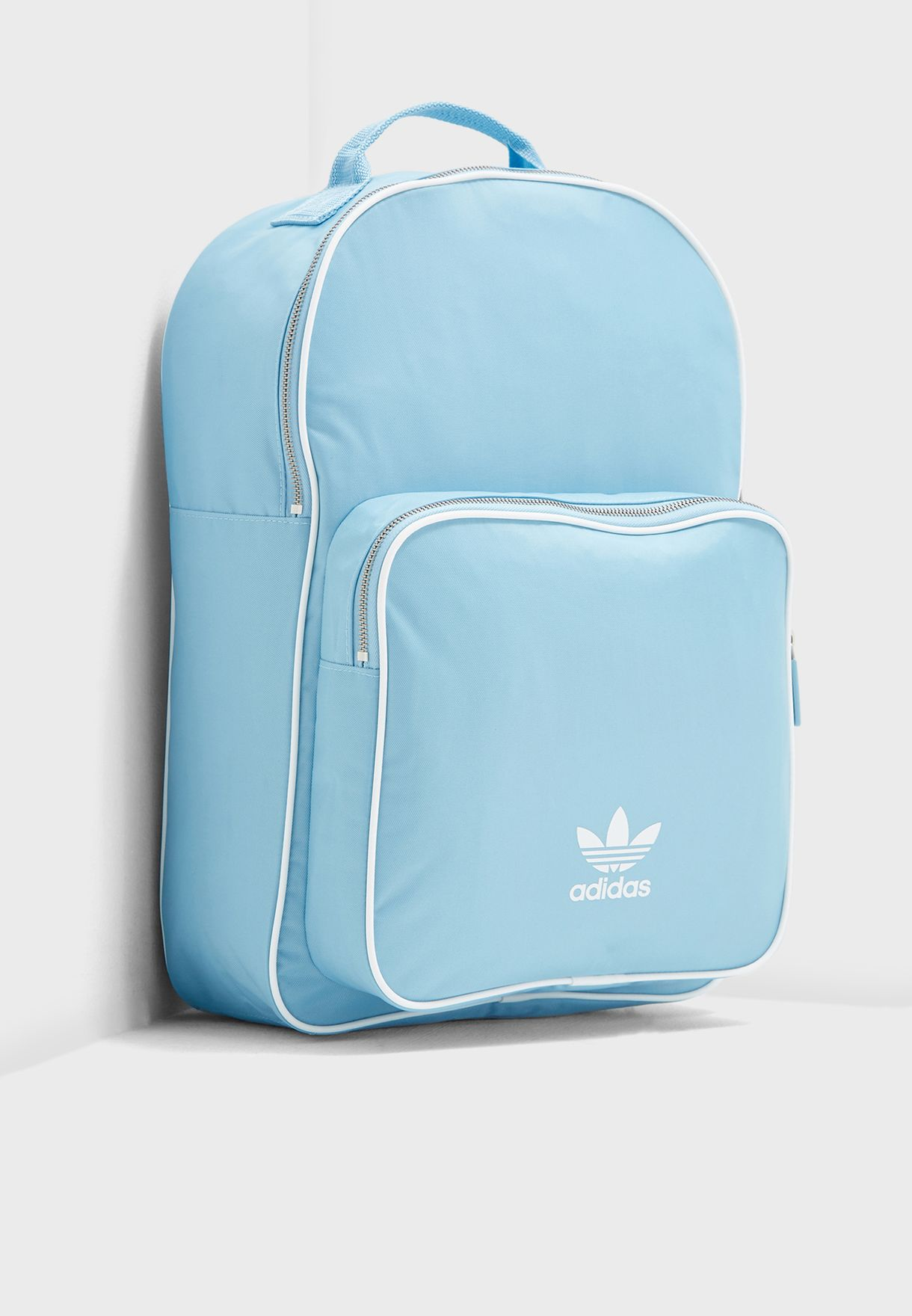 ac31b823a66 Shop adidas Originals blue adicolor Classic Backpack DJ0880 for ...