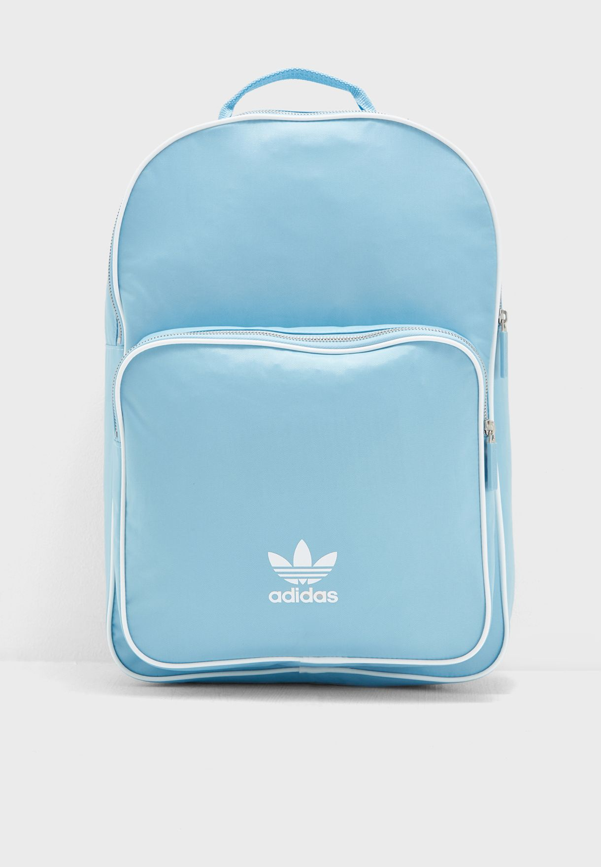 3db8f01cd3d5 Shop adidas Originals blue adicolor Classic Backpack DJ0880 for ...