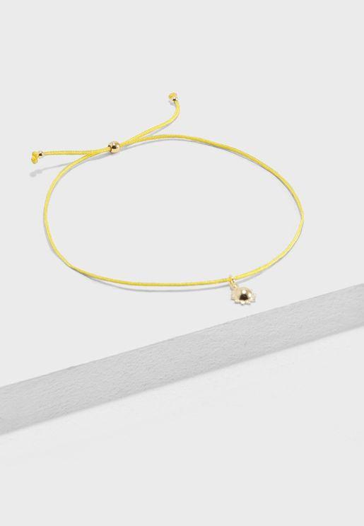 Sunshine Friendship Bracelet