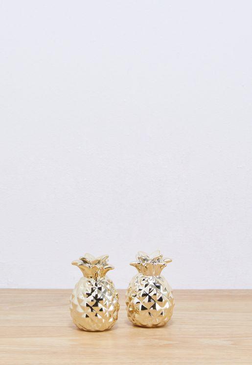 Pineapple Salt & Pepper Shaker Set