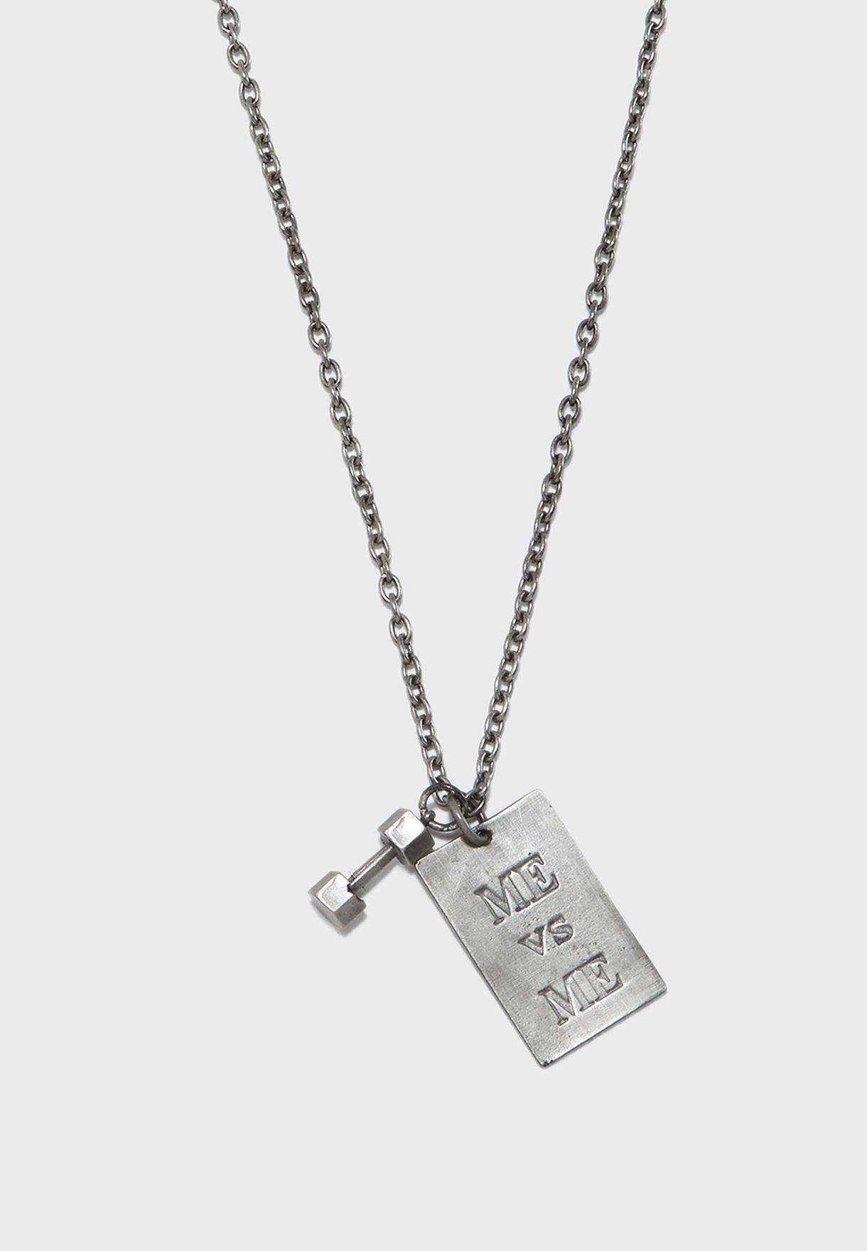ME v/s ME Necklace