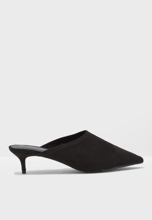 Stretch Mule Pumps