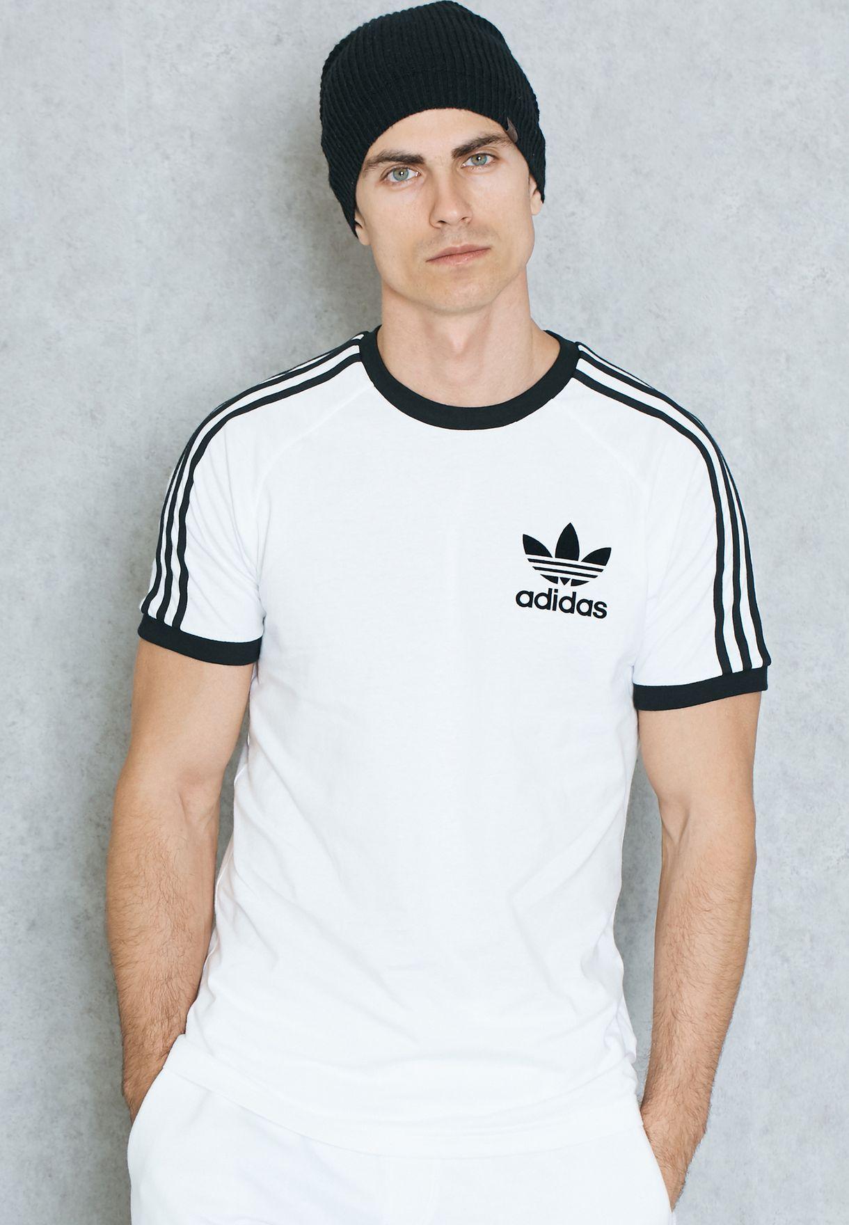 ef25c782 Shop adidas Originals white California T-Shirt AZ8128 for Men in UAE ...