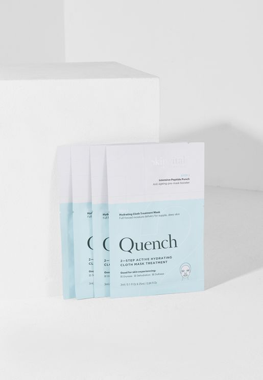Quench 2 Step Face Mask Pack
