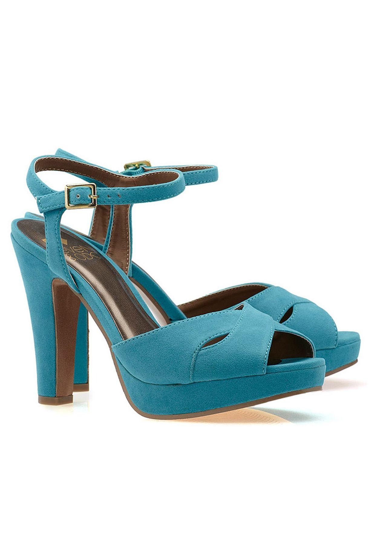 ef7f4199aab Shop Even odd blue Classic High Heel Sandal for Women in Saudi ...