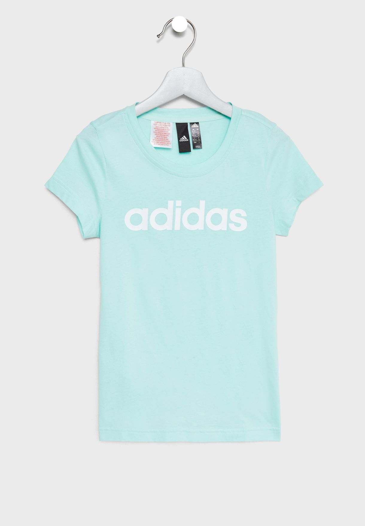 Shop adidas blue Youth Linear T-Shirt DJ1334 for Kids in Qatar -  AD476AT71DRK 6c848f21e8d