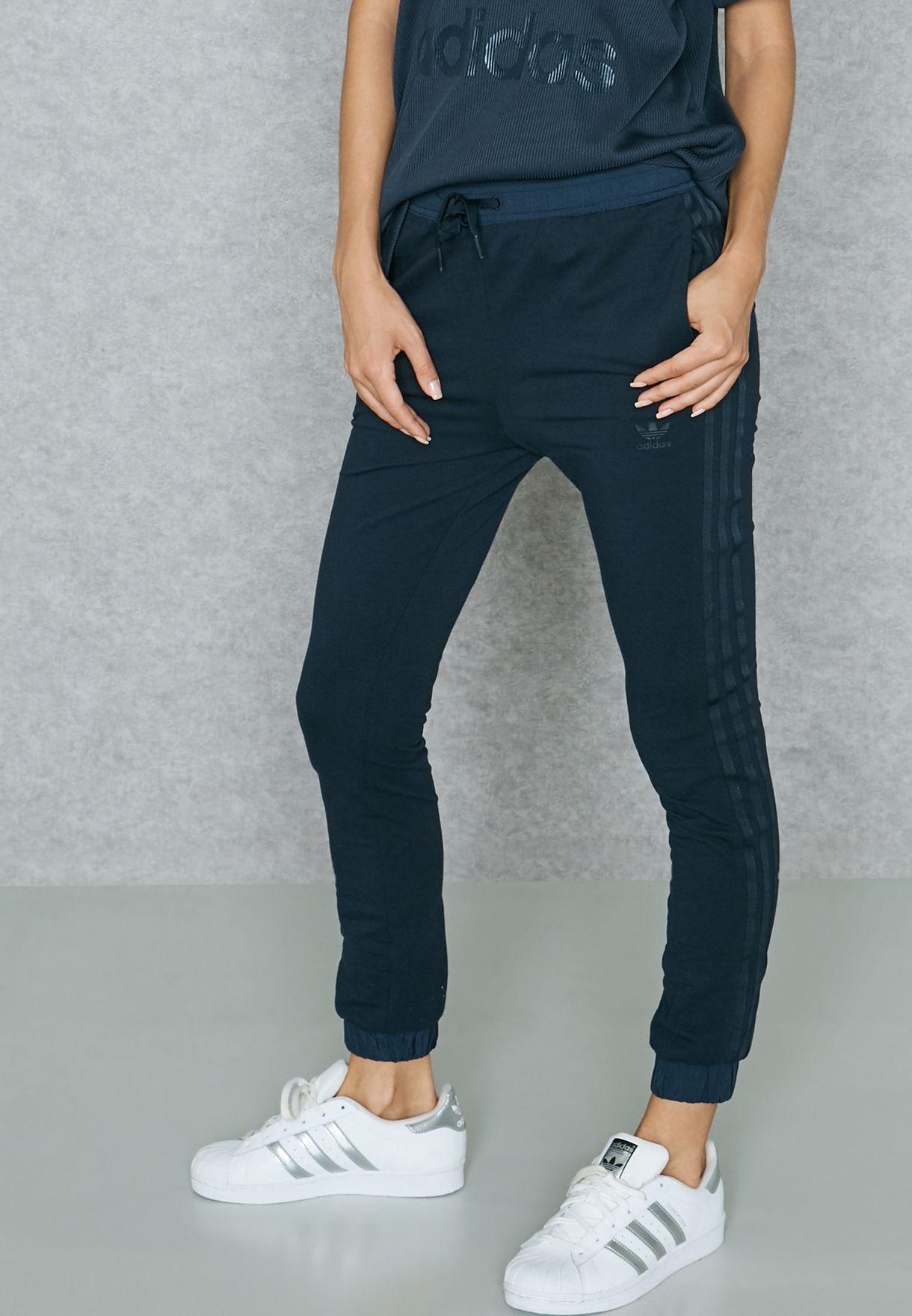 adidas originals skinny joggers womens