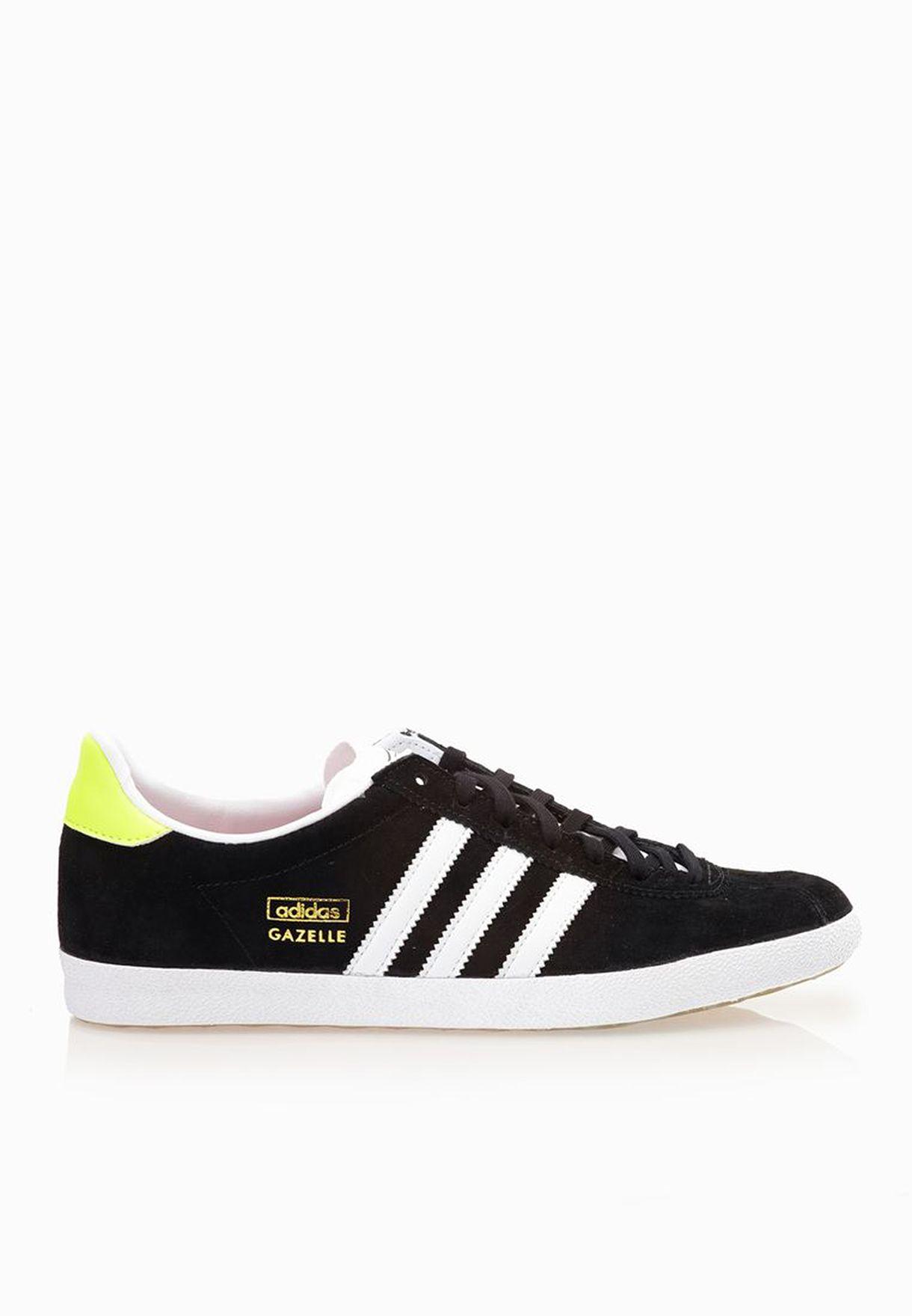 online store cca55 9e5ac Shop adidas Originals black Gazelle OG Sneakers S81329 for Women in Saudi -  AD478SH71GYQ