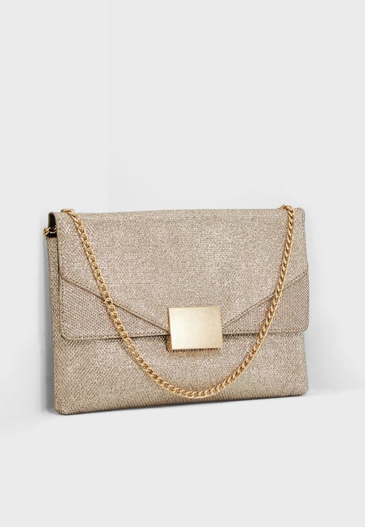 Square Hardware Crossbody