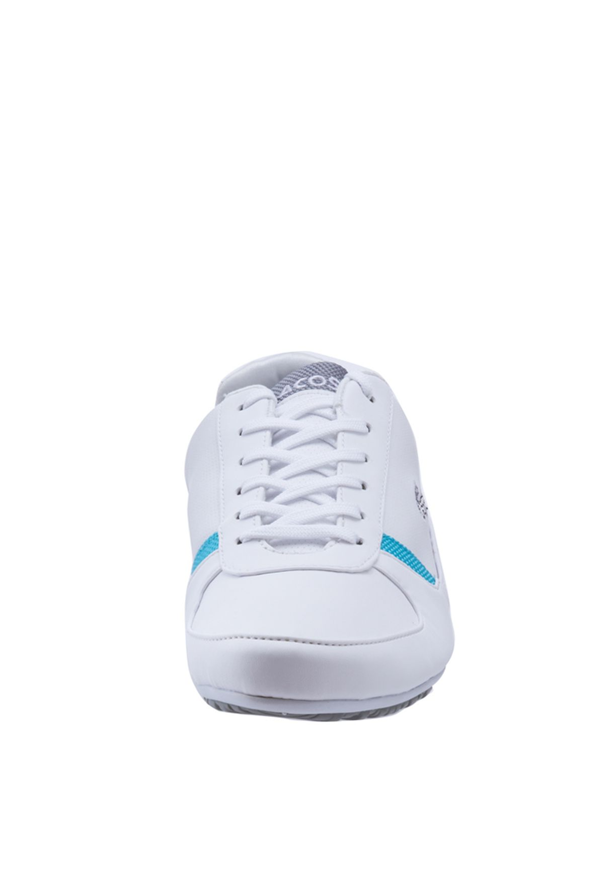 38c51454fad588 Shop Lacoste white Atherton PS Sneakers 24SPW2201-W56 for ...