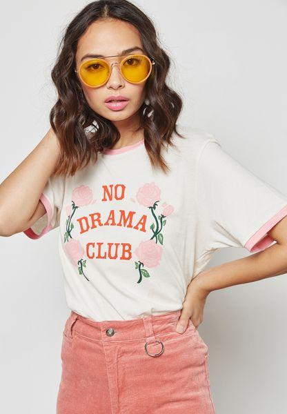 No Drama Club T-Shirt