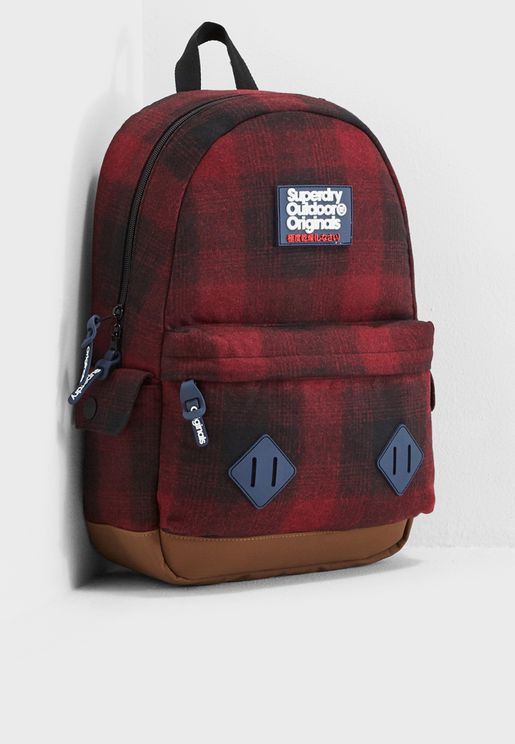 Frontier Checked Montana Backpack