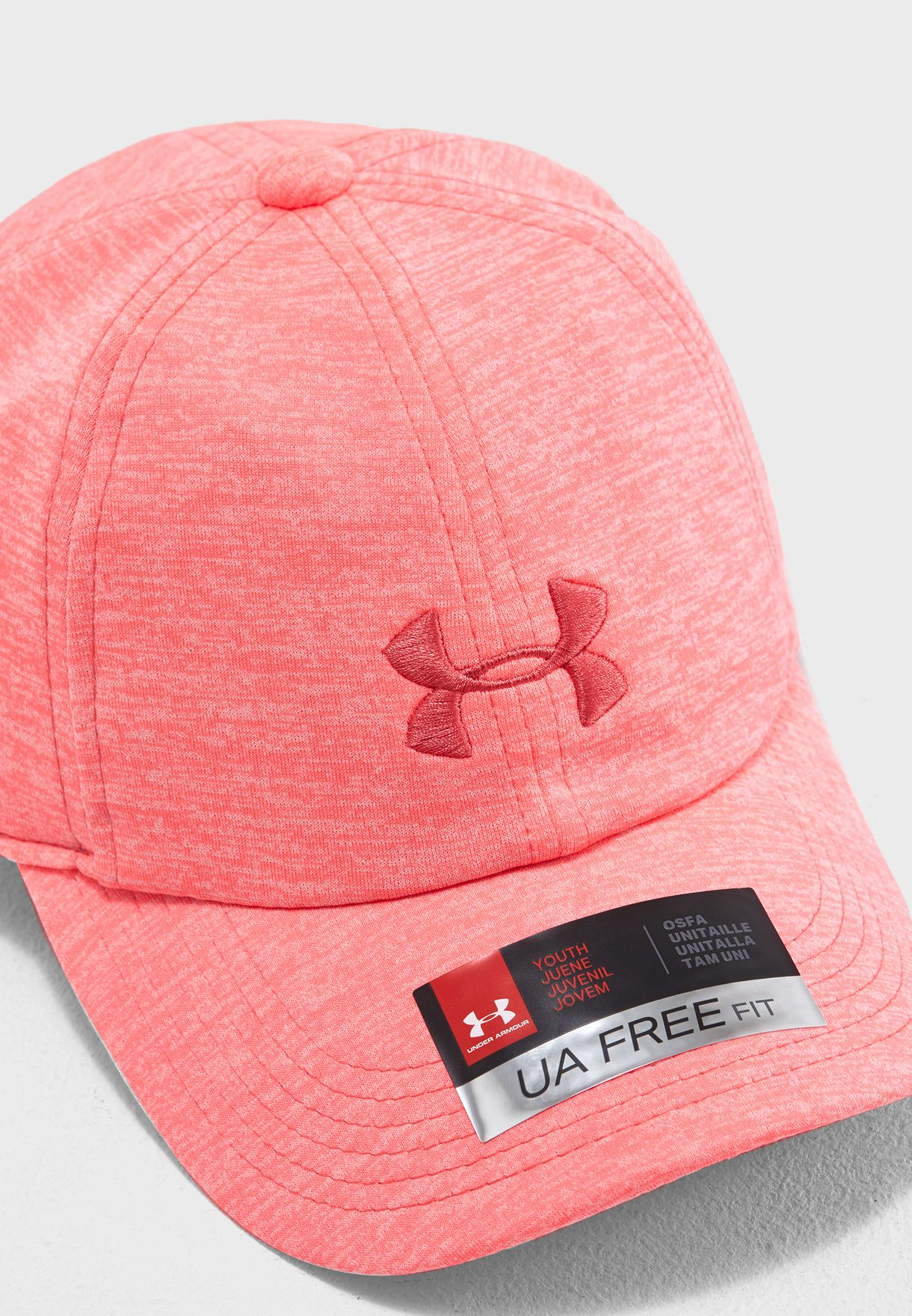 72381bbdddba6 Shop Under Armour pink Kids Twisted Renegade cap 1306337-819 for ...