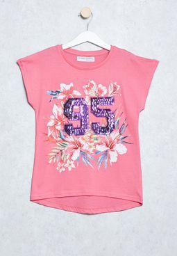 Kids 95 Print T-Shirt