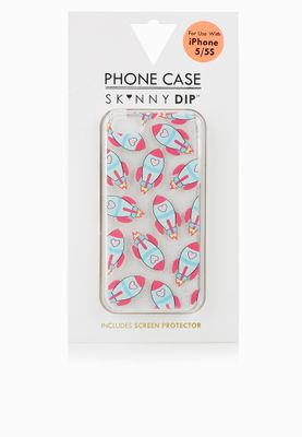Skinny Dip London iPhone 5 Rocket Cover