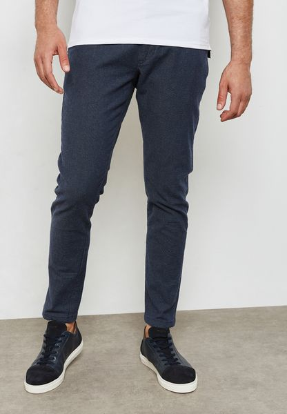 Haravl Slim Fit Trousers