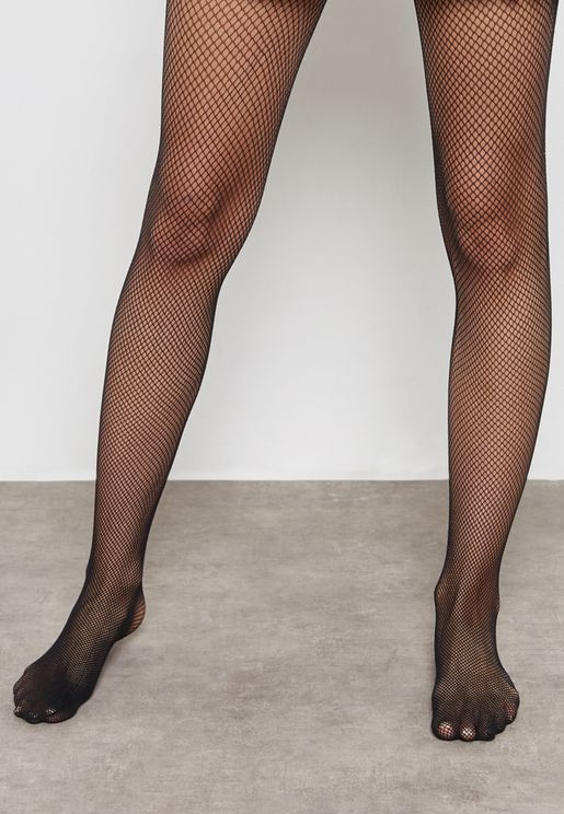 Fish Fishnet Tights