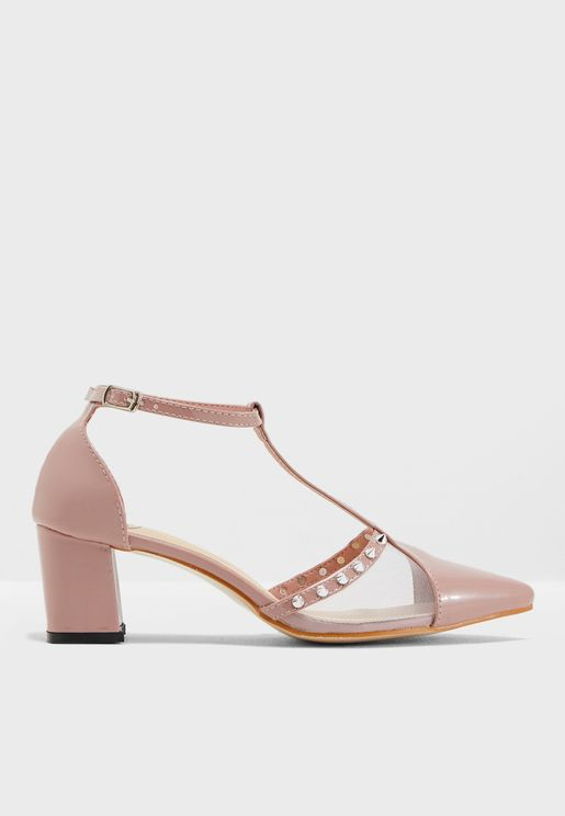 Ahna Heeled Pumps