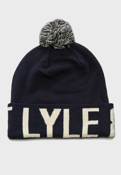 Word Knitted Beanie