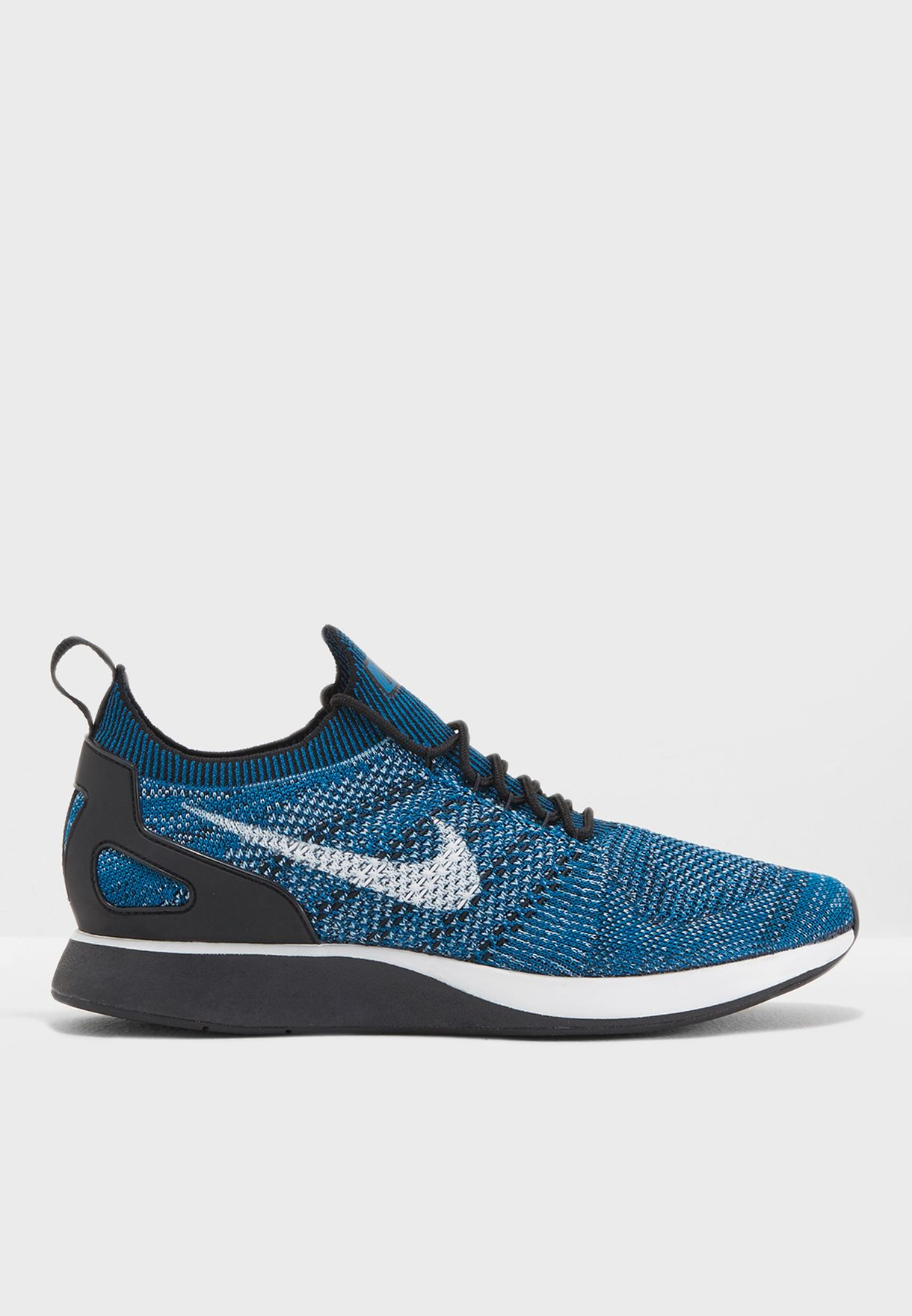 a6705177407dc Shop Nike blue Air Zoom Mariah Flyknit Racer 918264-300 for Men in ...