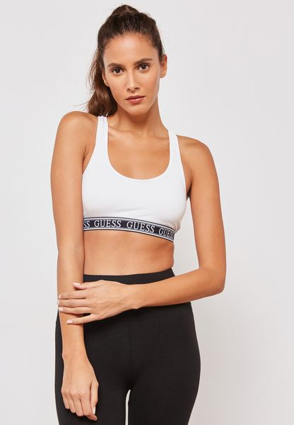 Guess Logo Sports Bra