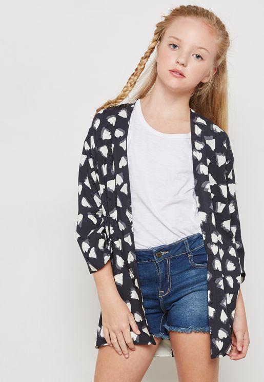 Little Striped Kimono