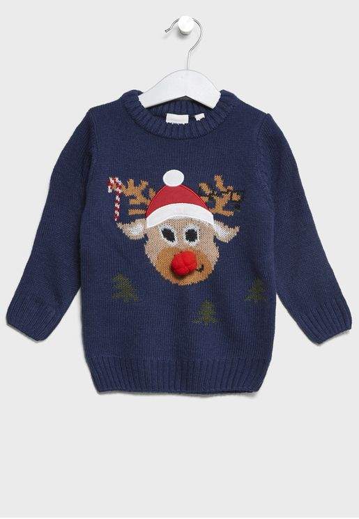 Little Reindeer Sweater