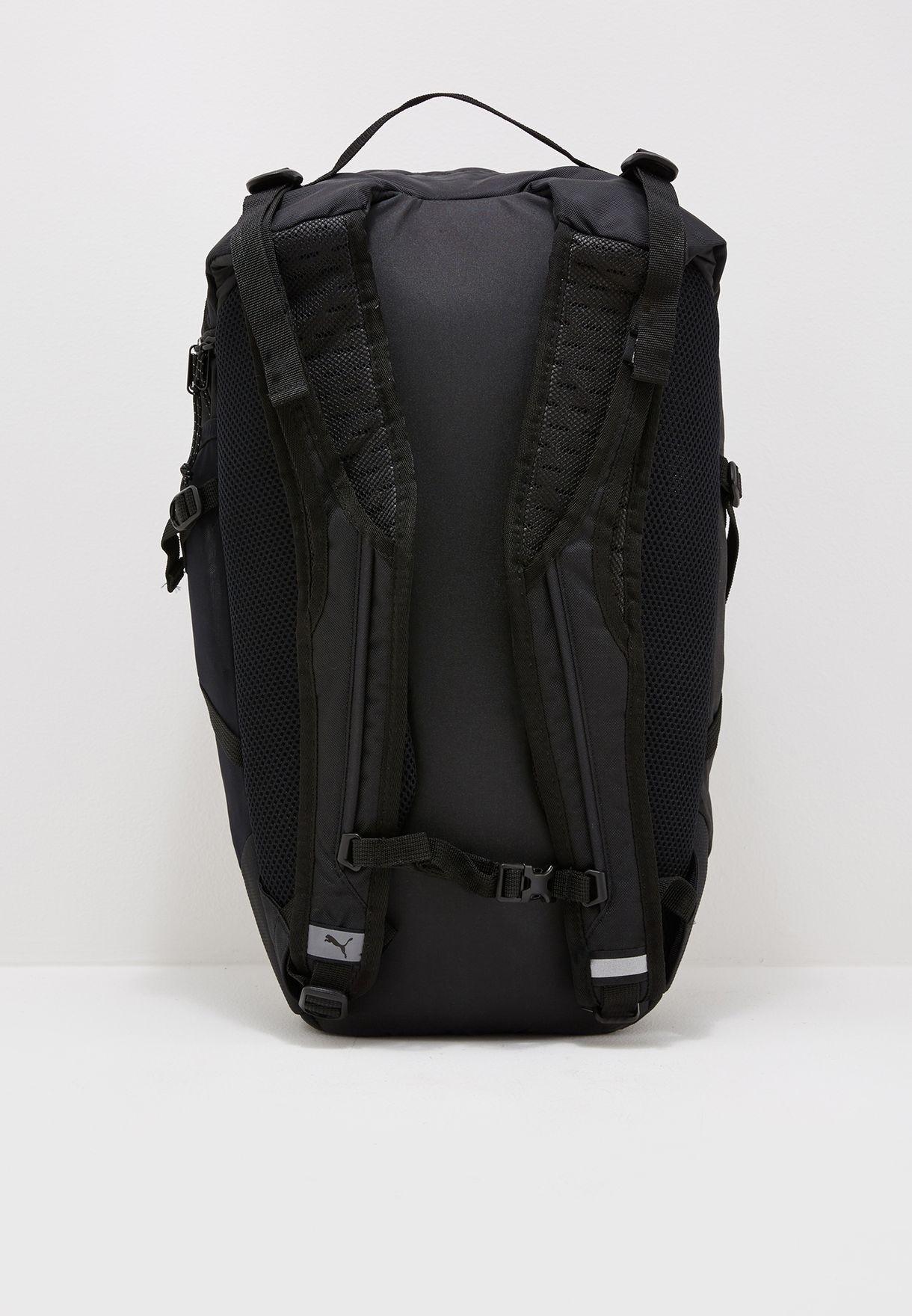 7153b1bb127d Shop PUMA black Stance Backpack 07488501 for Men in Saudi ...