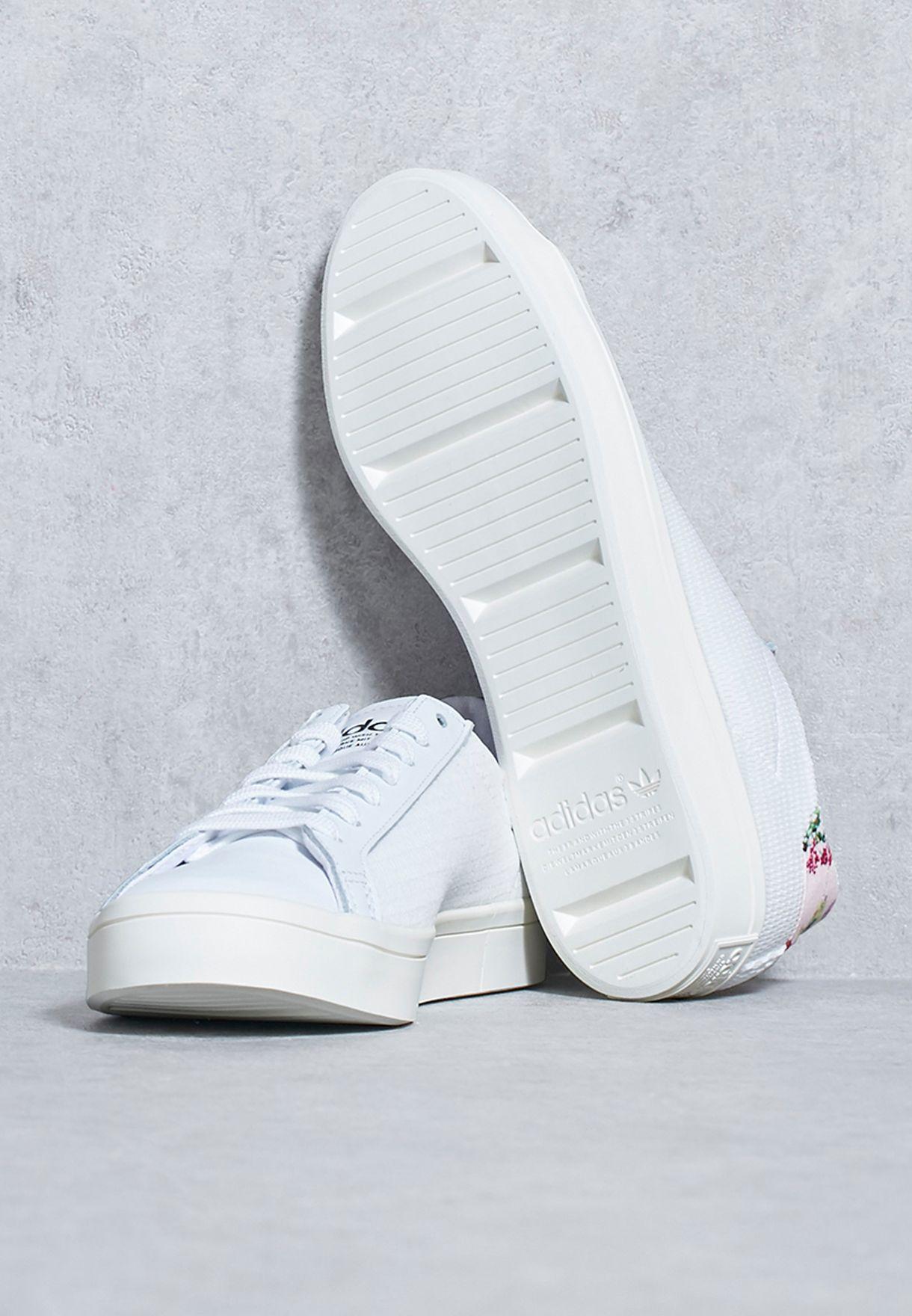 4e961220611d Shop adidas Originals white Courtvantage W BY9239 for Women in UAE ...