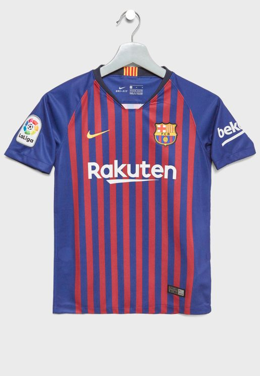 Youth FC Barcelona 18/19 Home Jersey