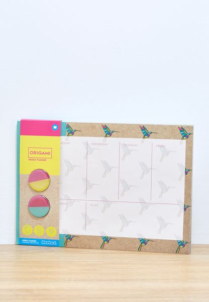 Origami Weekly Planner