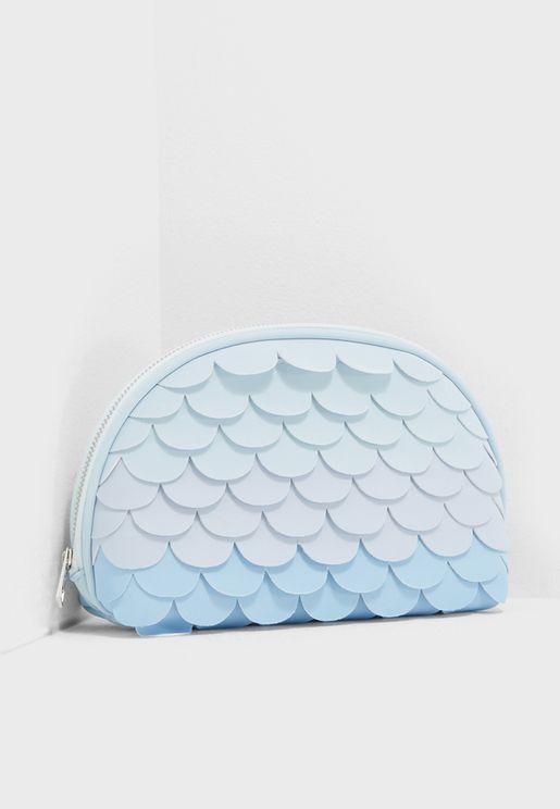 Scallop Make Up Bag