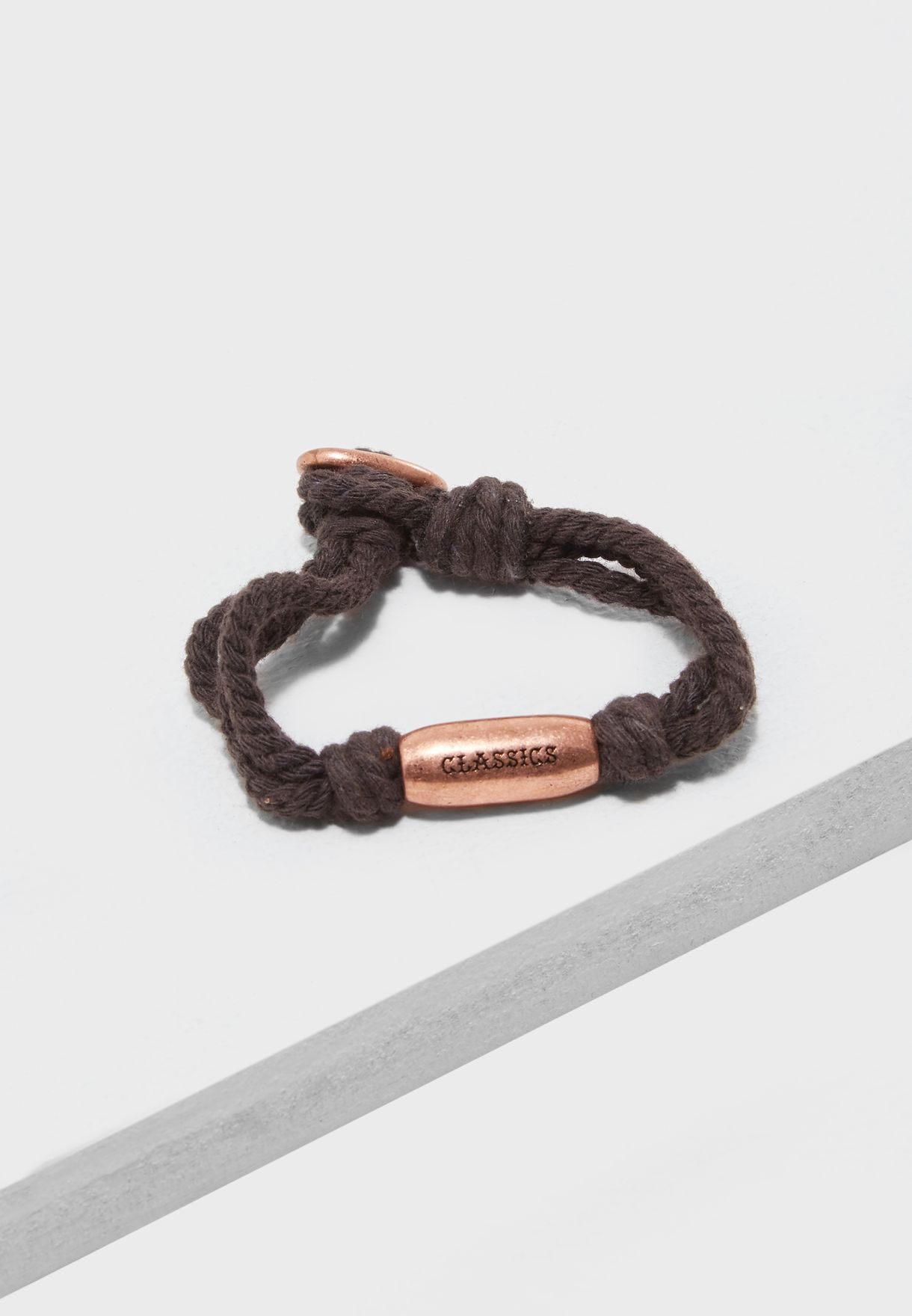 Cord Bracelet With Knot Detail