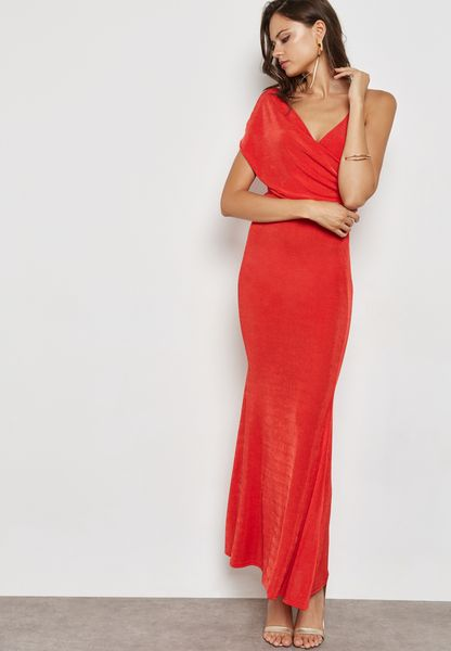 Belted Bodycon Maxi Dress