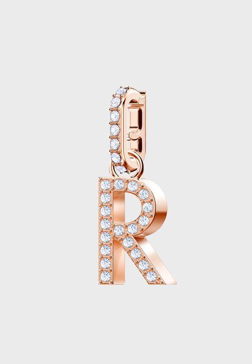 حلية بشكل حرف R