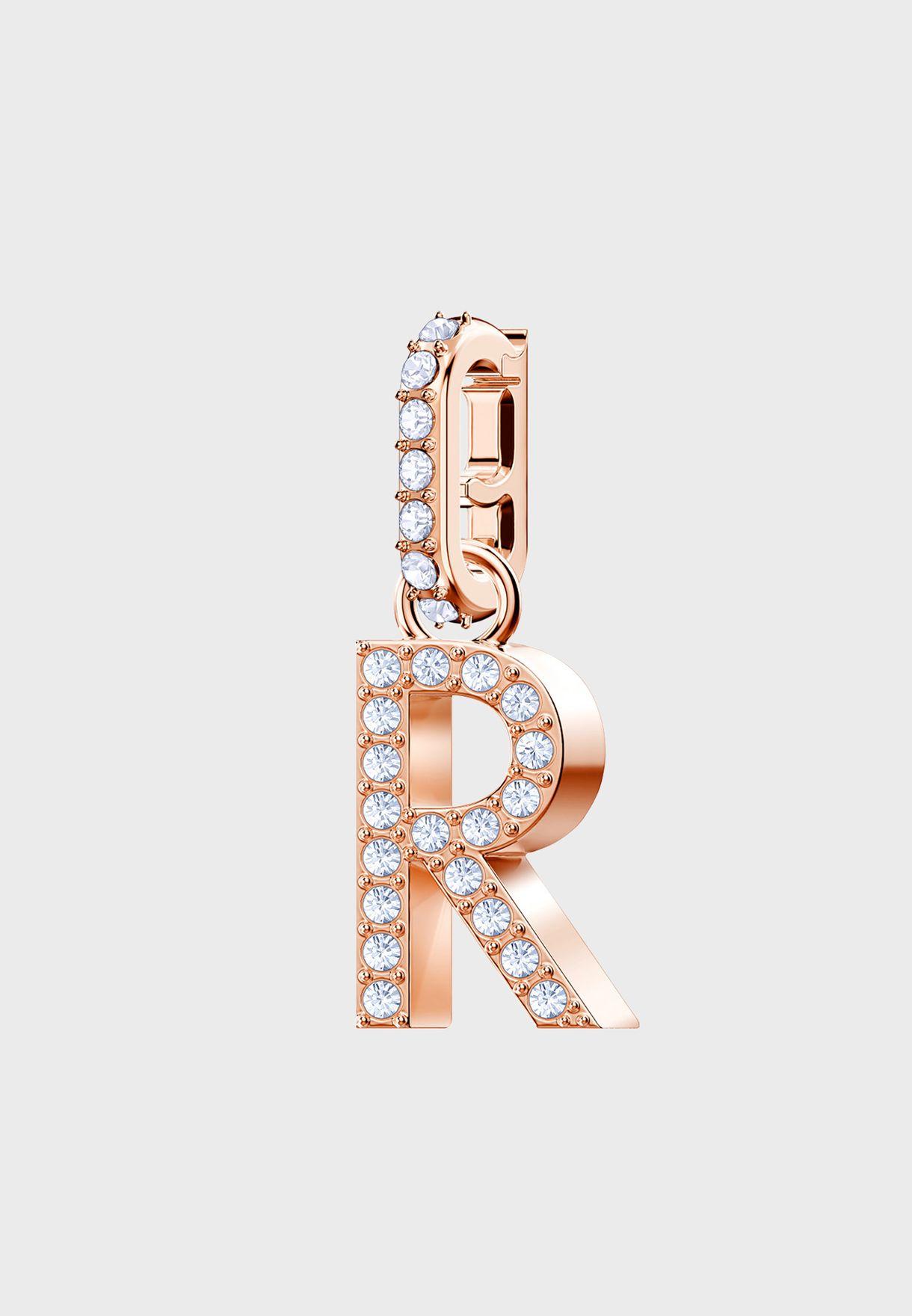 Swa Remix R-Alphabet Charm
