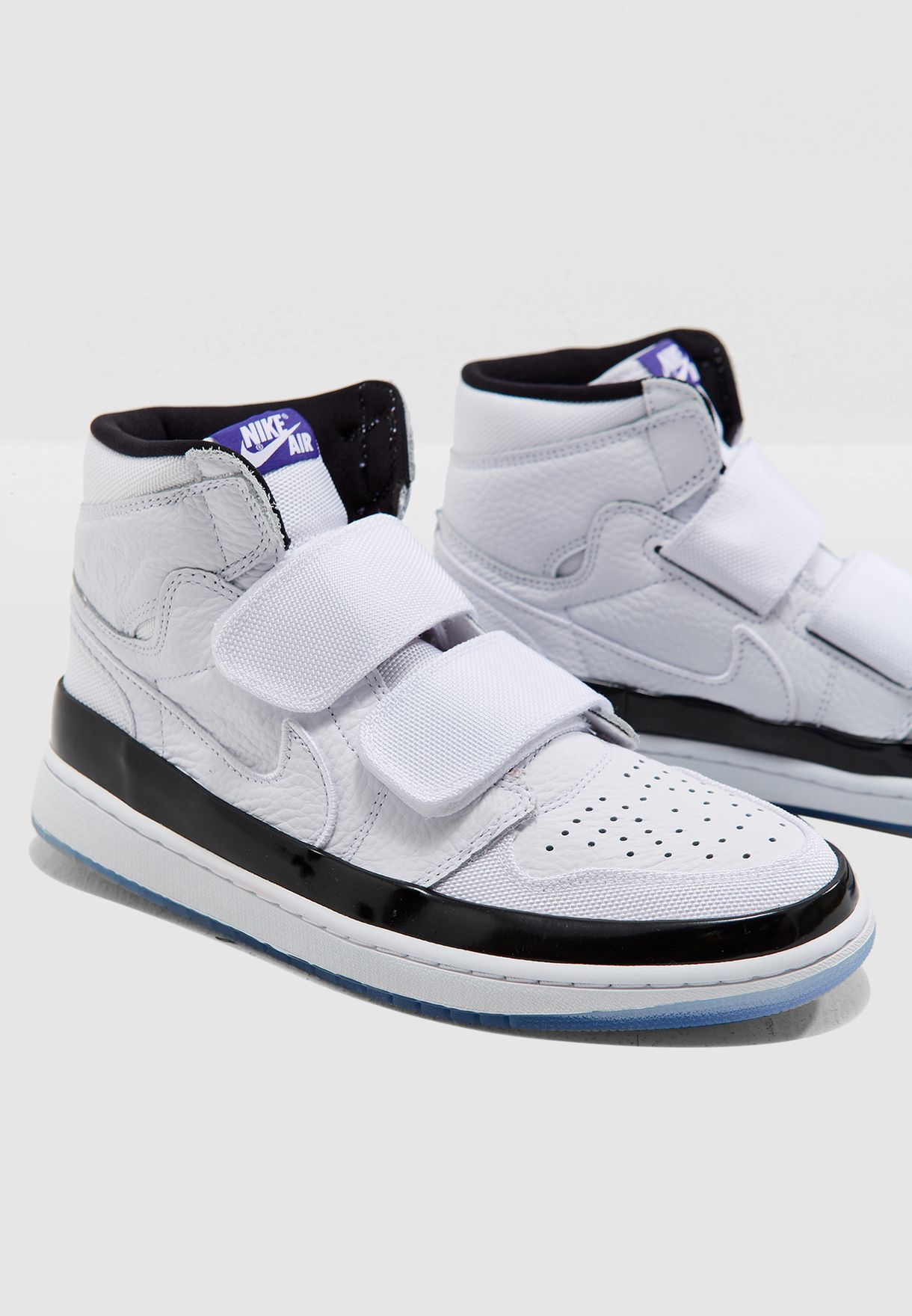 924d007806918a Shop Nike white Air Jordan 1 Re Hi Double Strap AQ7924-107 for Men ...