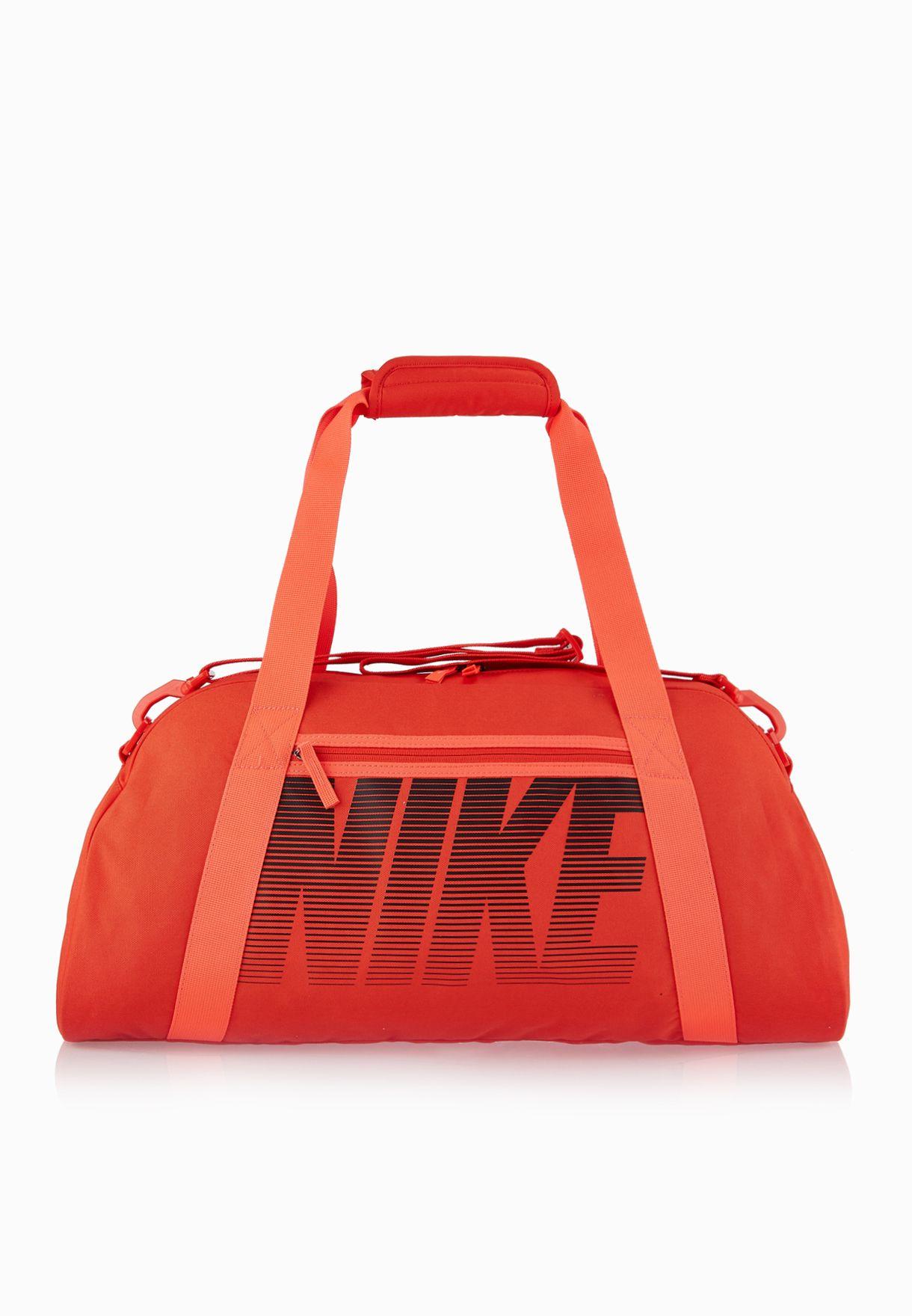 255aff9d9253 Shop Nike orange Women  39 S Gym Club Bag BA5167-657 for Women in ...