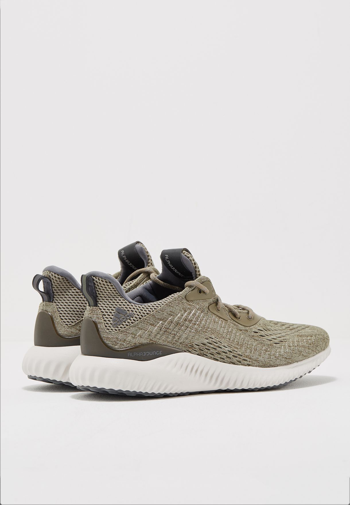 cf7edfb2de39 Shop adidas green Alphabounce EM M BW1203 for Men in Saudi ...