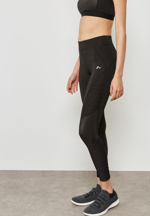 Side Detail Logo Leggings