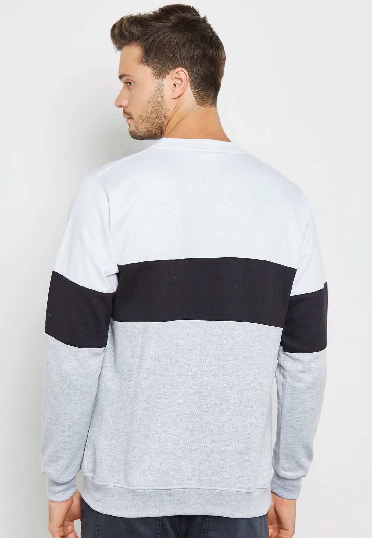 Basic Colourblock Sweater