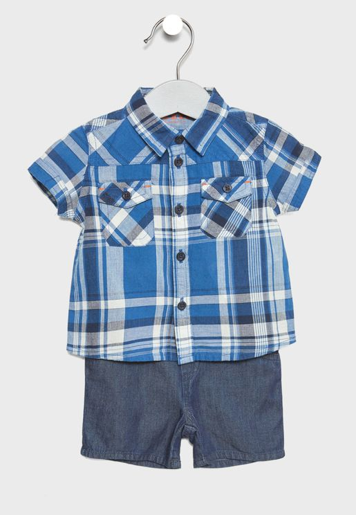 Infant Shirt + Shorts Set